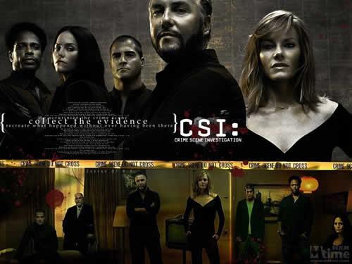 CSI-犯罪现场调查