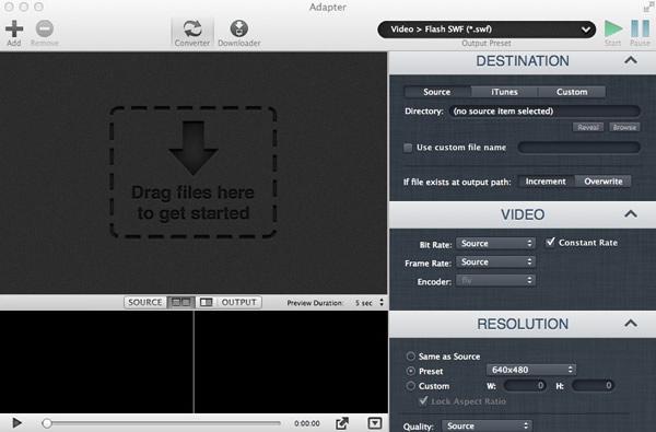 adapter视频转换工具