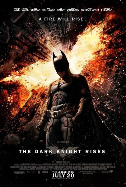 蝙蝠侠:黑暗骑士的崛起 海报