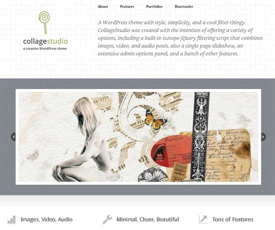 CollageStudio WordPress Theme