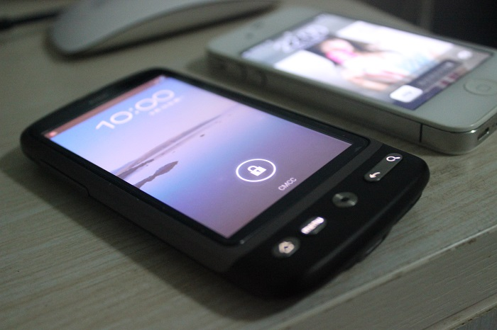 我的HTC Desire复活了