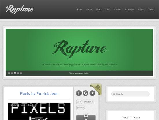 Rapture WordPress Theme