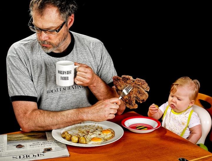 人像摄影:父与女