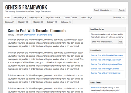 Genesis Framework 1.8.2 免费下载
