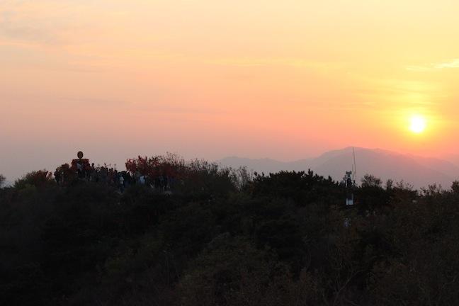 2012年10月28日记:香山一日游