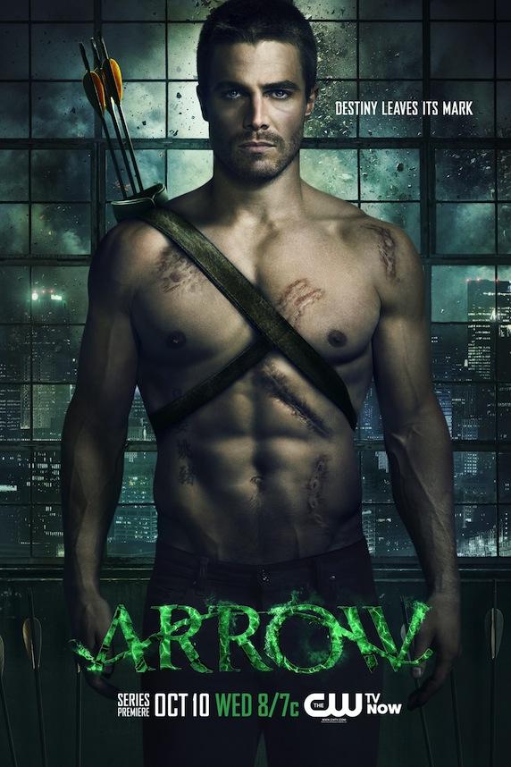 《绿箭侠》第1季海报