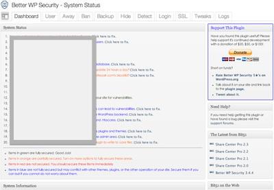 推荐WordPress安全及优化插件