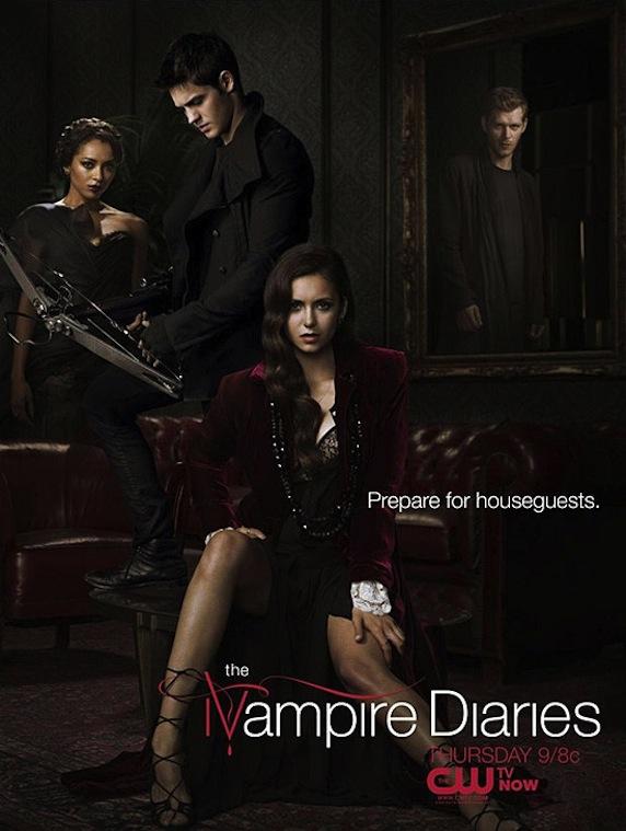 《吸血鬼日记》第4季海报
