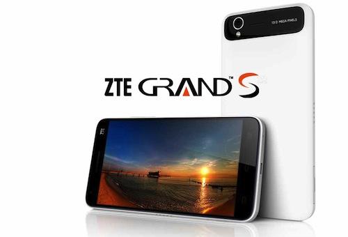 全球最薄 5寸FHD高清屏中兴Grand S