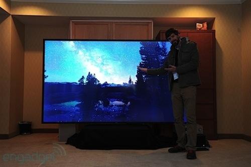 全球首台110寸4K电视