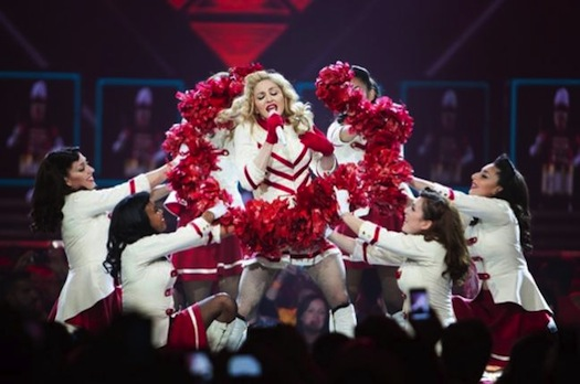 麦当娜 (Madonna) 2012 巡演现场