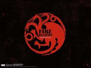 坦格利安家族House Targaryen印记