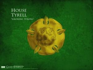 提利尔家族House Tyrell印记