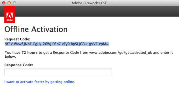 Adobe CS6离线激活