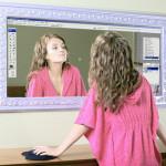 Photoshop镜子