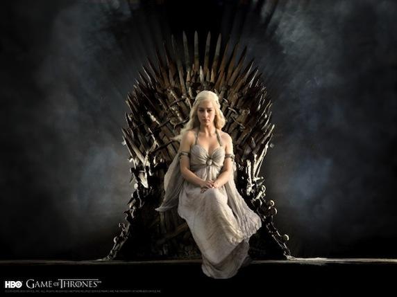 《权力的游戏》第三季剧照之女王