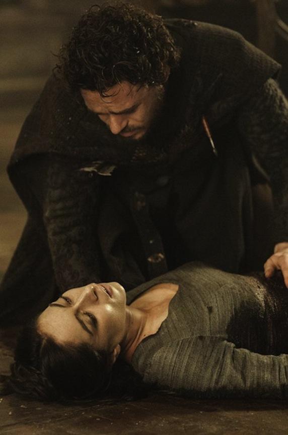《权力的游戏》第三季剧照之罗柏被杀