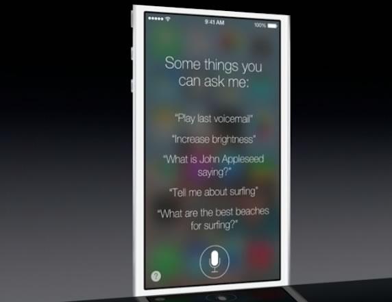 WWDC 2013 iOS 7 Siri