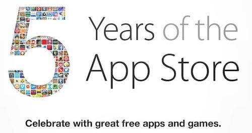 App Store 5周年