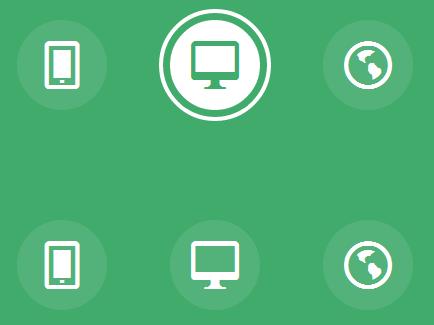 CSS3鼠标悬停动画按钮