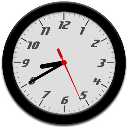 jQuery/CSS3圆盘时钟