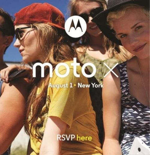 moto x 宣传海报