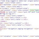 WordPress html5 结构