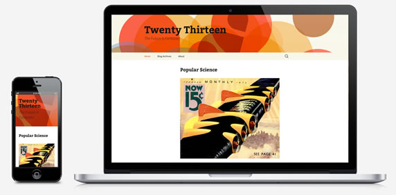WordPress Twenty Thirteen (2013)主题