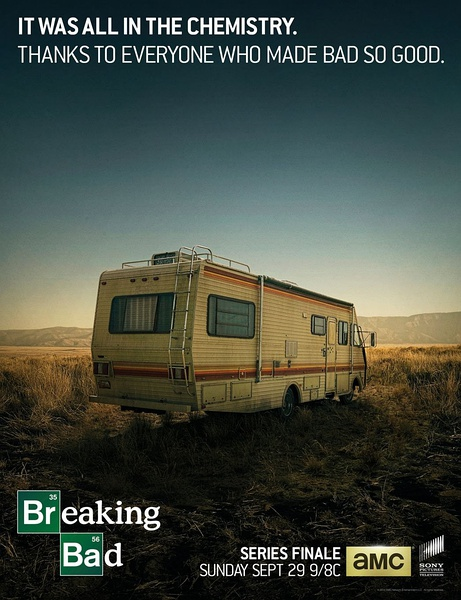 《绝命毒师》 第五季结局预告海报