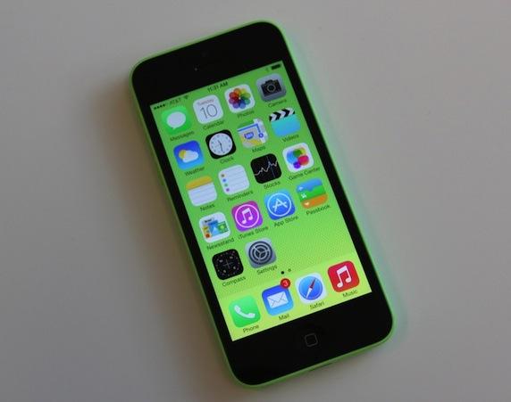 iPhone 5c 配置