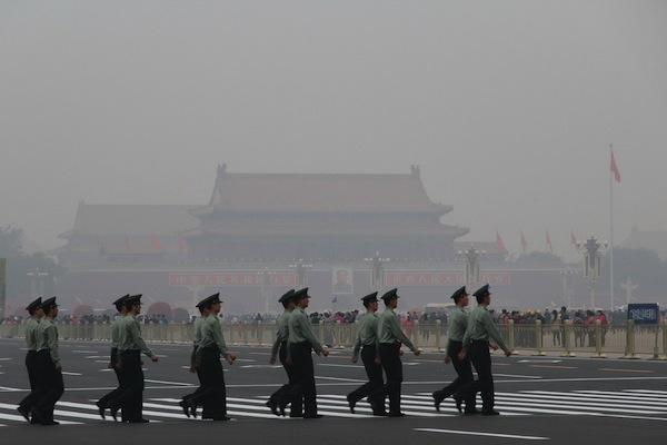 国庆节 - 北京雾霾