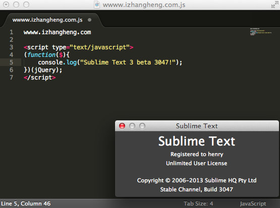 Sublime Text Mac 破解