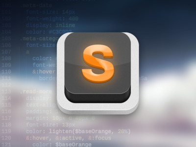 Sublime Text Icon