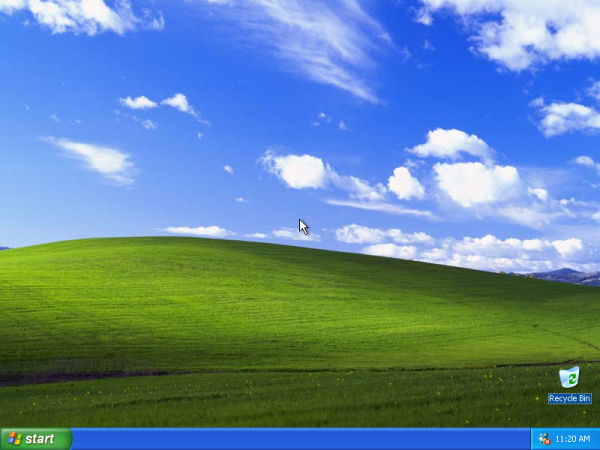 Windows XP 桌面