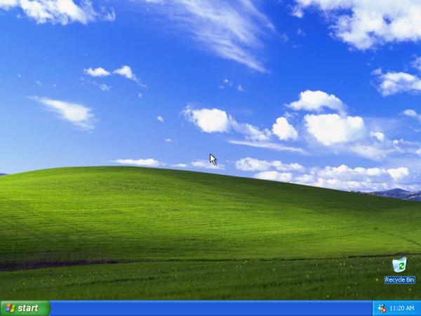 Windows XP 桌面