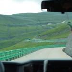 长白山北坡盘山路
