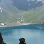 长白山北面天池美景