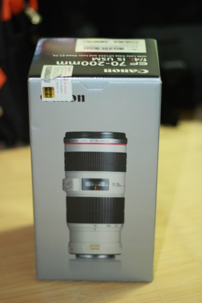 EF-70-200mm-f4l is usm 包装