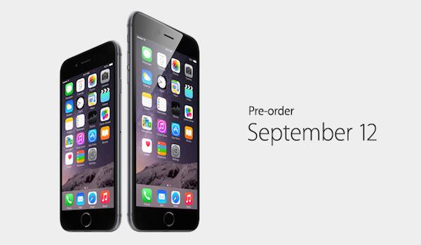 iphone 6 和 iphone 6+