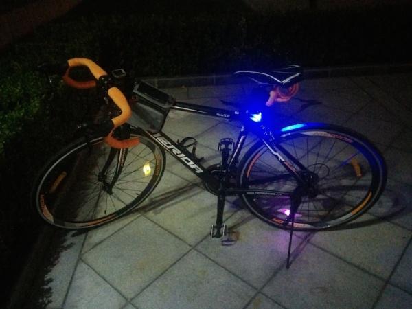 美利达 Ride902 夜拍